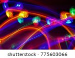 abstract pattern of blurry... | Shutterstock . vector #775603066