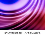 colorful ripple background | Shutterstock . vector #775606096