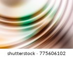 colorful ripple background | Shutterstock . vector #775606102