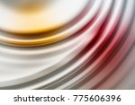 colorful ripple background | Shutterstock . vector #775606396