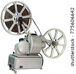 a movie projector is an opto...   Shutterstock . vector #775606642