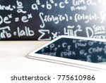 modern education and e learning ... | Shutterstock . vector #775610986