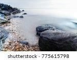 Large Rocks On East Beach ...