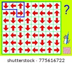 logic puzzle game. need to draw ... | Shutterstock .eps vector #775616722