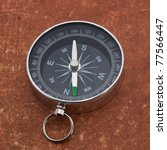 Compass On The Old Surface