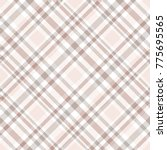 plaid check. all over fabric... | Shutterstock .eps vector #775695565