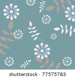 floral background | Shutterstock . vector #77575783