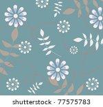 floral background | Shutterstock . vector #77575783