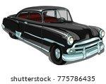 Chevrolet Retro Vintage Vector...