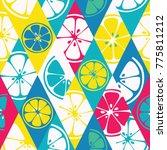 geometric seamless pattern set...