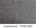 gray fabric with regular...   Shutterstock . vector #775817602