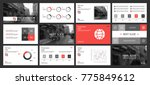 this template is the best as a... | Shutterstock .eps vector #775849612