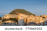 view of cantagalo favela near... | Shutterstock . vector #775869202