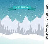 christmas holiday background | Shutterstock .eps vector #775886506