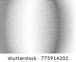 abstract halftone wave dotted... | Shutterstock .eps vector #775914202