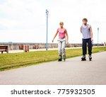 outdoors activities sport and... | Shutterstock . vector #775932505