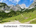 Idyllic Landscape In The Alps...