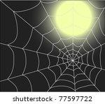 spiderweb | Shutterstock .eps vector #77597722