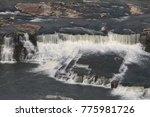 black eagle falls  great falls  ...   Shutterstock . vector #775981726