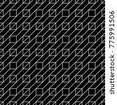 seamless surface pattern design ... | Shutterstock .eps vector #775991506