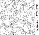 acorn vector illustration   Shutterstock .eps vector #776011792