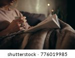 cropped shot of female hands... | Shutterstock . vector #776019985