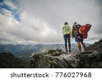 together roll mountains   Shutterstock . vector #776027968