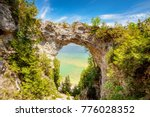 Arch Rock Mackinac Island...