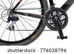 sports mountain bike. side view....   Shutterstock .eps vector #776028796
