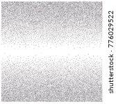 silver glitter frame or border  ... | Shutterstock .eps vector #776029522