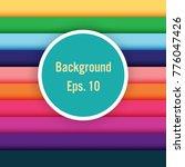 colourful stripes design... | Shutterstock .eps vector #776047426