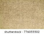 natural linen background | Shutterstock . vector #776055502
