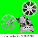 a movie projector is an opto... | Shutterstock . vector #776055682