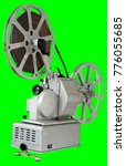 a movie projector is an opto...   Shutterstock . vector #776055685