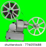 a movie projector is an opto...   Shutterstock . vector #776055688