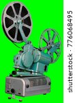 a movie projector is an opto...   Shutterstock . vector #776068495