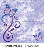 Butterfly  Romantic Background