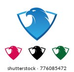 shield guard mighty eagle... | Shutterstock .eps vector #776085472