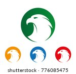 majestic brave mighty eagle... | Shutterstock .eps vector #776085475