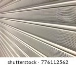 texture of shutter door or... | Shutterstock . vector #776112562