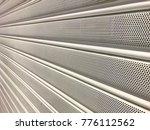 texture of shutter door or... | Shutterstock . vector #776112562