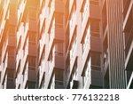 close up new modern condominium ... | Shutterstock . vector #776132218