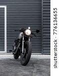 custom motorcycle parking near... | Shutterstock . vector #776136655