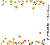 gentle floral pattern with... | Shutterstock .eps vector #776148112