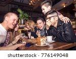 people meeting friendship... | Shutterstock . vector #776149048