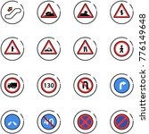 line vector icon set  ... | Shutterstock .eps vector #776149648