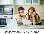 family managing budget ...   Shutterstock . vector #776162065