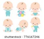 Cute Baby Or Toddler Boy Vecto...