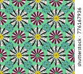 seamless floral pattern with... | Shutterstock .eps vector #776167936