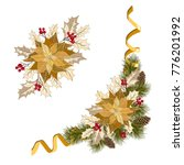 christmas decorations with... | Shutterstock .eps vector #776201992